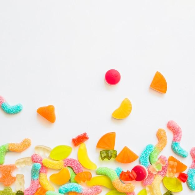 Bunch von süßigkeiten