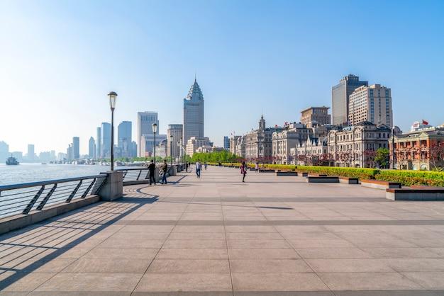 Bund-architektur in shanghai