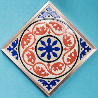 Bunte art der keramikfliesenmuster.