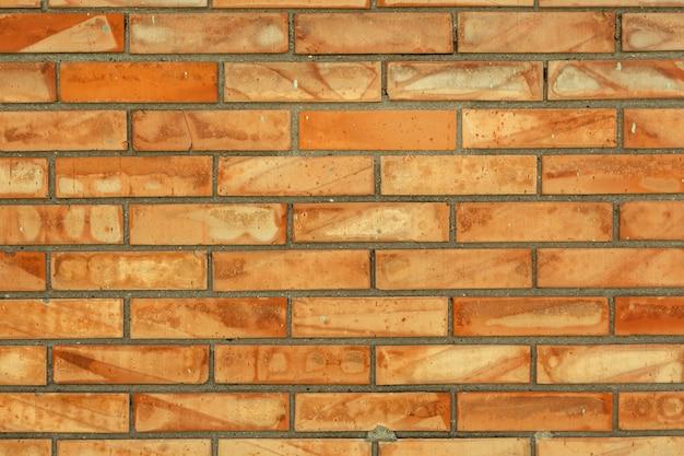 Bunte backsteinmauer ansicht-arbeitsbeschaffenheit