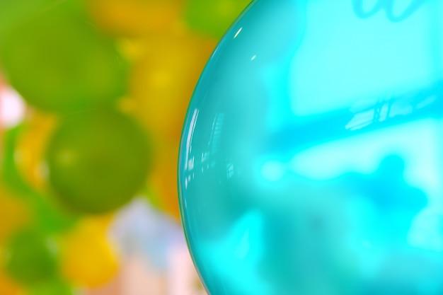 Bunte ballonhintergrundmusterhintergrund