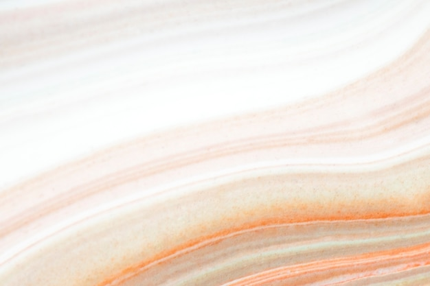 Bunte flüssige acrylfarbe