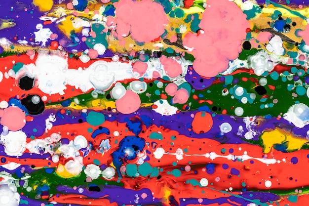 Bunte flüssige marmorhintergrund abstrakte fließende textur experimentelle kunst