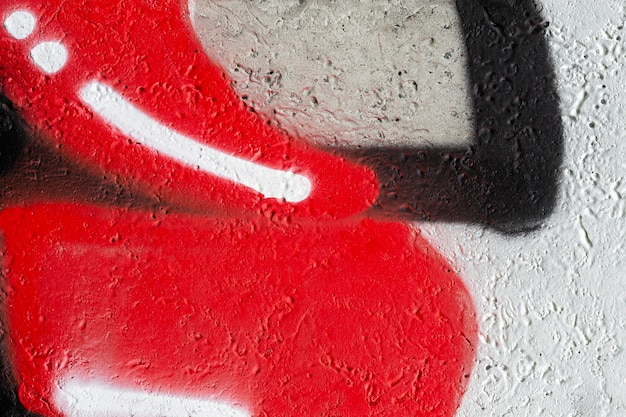 Bunte fototapete graffiti tapete