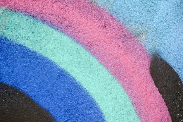 Bunte graffitibeschaffenheit auf wand als hintergrund