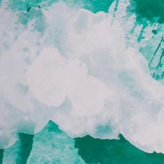 Bunte komposition mit aquarellpinselstrichen