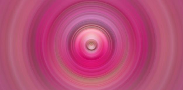 Bunte konzentrische kreise heißes rosa kräuselt grafische digitale grafik