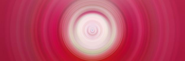 Bunte konzentrische kreise rosa und weiße wellen grafische digitale grafik