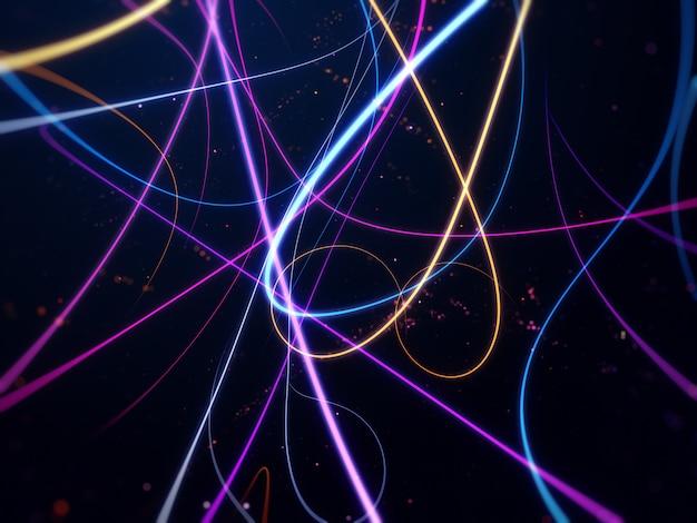 Bunte lichter streifen hintergrund