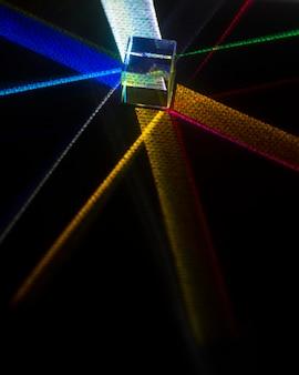 Bunte lichtprismen