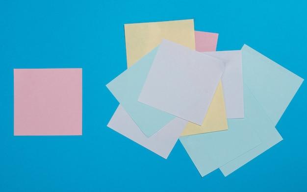 Bunte papieraufkleber
