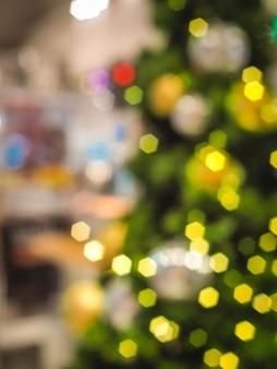 Bunte unschärfe bokeh hintergrund weihnachtshintergrund