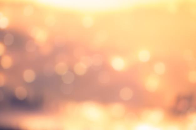 Bunte unscharfe hintergründe, orange und gelber hintergrund
