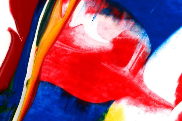 Bunter abstrakter acrylanstrichhintergrund