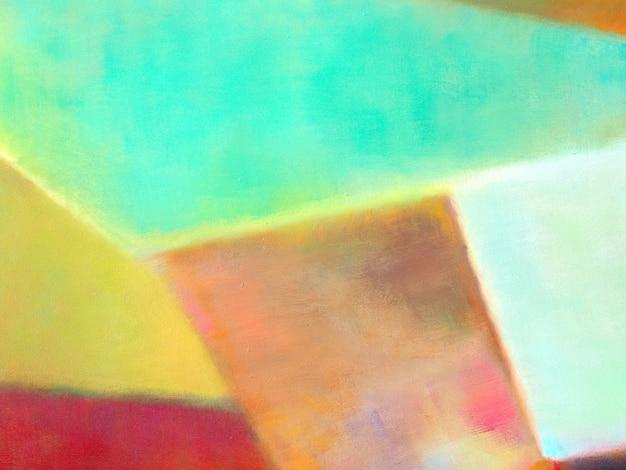 Bunter abstrakter hintergrund der ölfarbe.