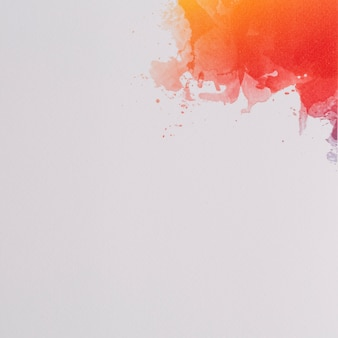 Bunter abstrakter hintergrund des aquarells