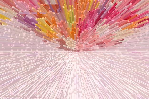 Bunter abstrakter musterbeschaffenheitshintergrund illustrationsdesign