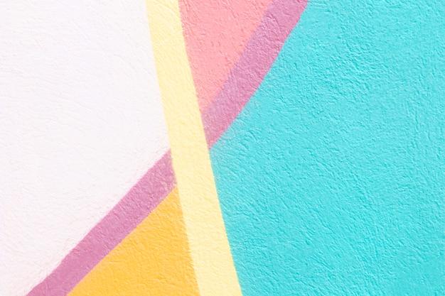 Bunter abstrakter wandhintergrund