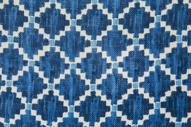 Bunter afrikanischer peruanischer artwolldecken-abschluss oben.