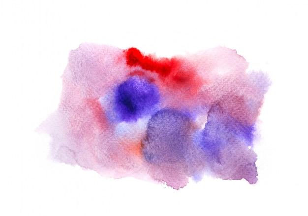 Bunter aquarellhintergrund. kunst hand malen
