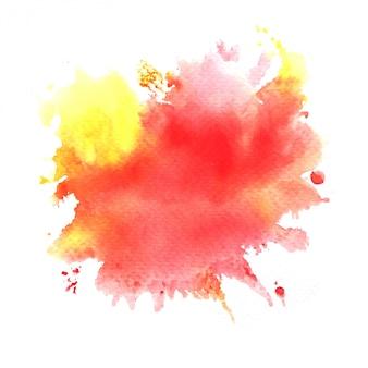 Bunter aquarellhintergrund. kunst handfarbe