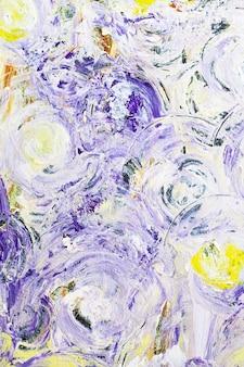 Bunter ausdrucksstarker abstrakter hintergrund mit mehrfarbigen farbflecken