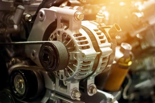 Bunter automotorteil