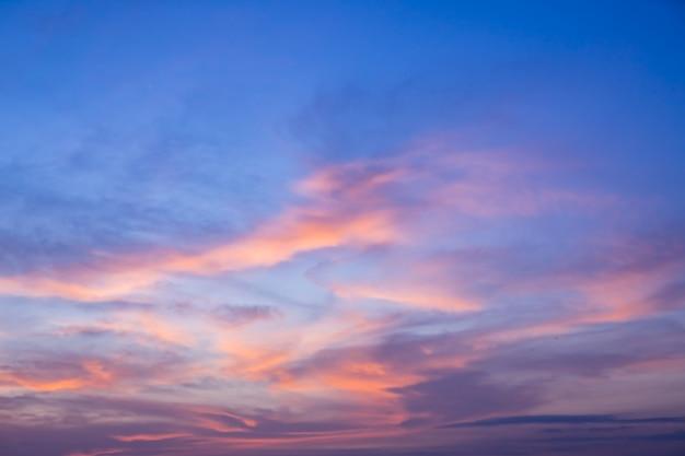 Bunter himmel