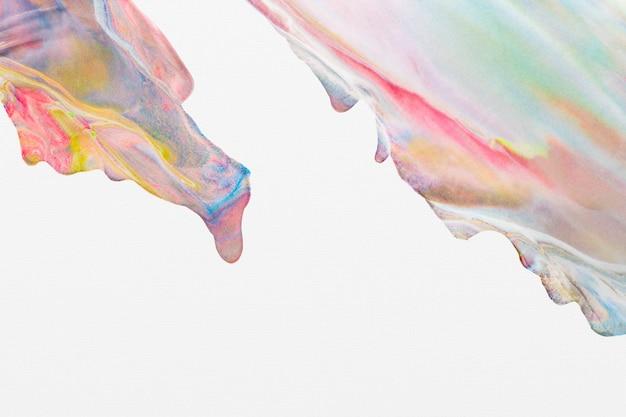 Bunter pastellmarmorhintergrund diy ästhetische fließende textur experimentelle kunst