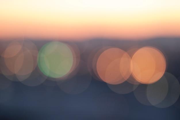 Bunter rosa, blauer, hellgrüner und gelber glatter bokehhintergrund