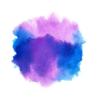 Buntes aquarellspritzen.