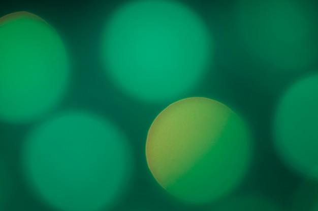 Buntes bokeh-neonlicht unscharf