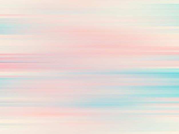 Buntes horizontales linienmuster, abstrakter steigungshintergrund. luxuriöse und elegante illustration mit weichem und unscharfem bewegungseffekt