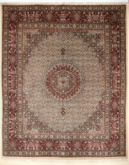 Buntes persisches islamisches des arabischen teppichs handcraft