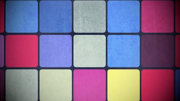 Buntes quadratmuster, abstrakter hintergrund
