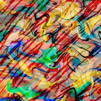 Buntes rotes, gelbes, oranges, blaues und grünes digitales farbhintergrunddesign