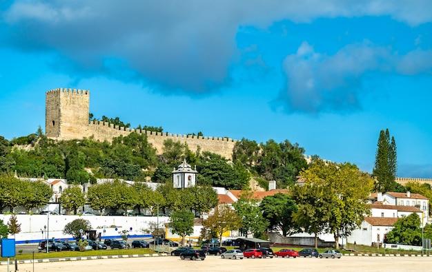 Burg von obidos, eine mittelalterliche festungsstadt in der region oeste in portugal
