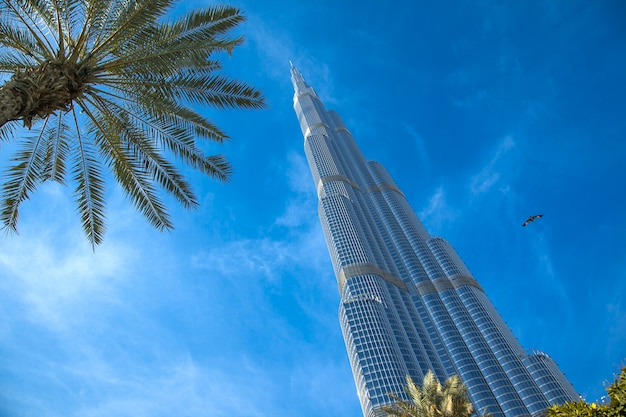 Burj khalifa gebäude in dubai