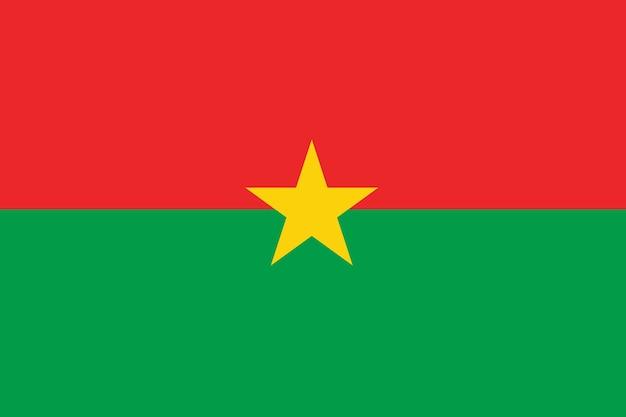 Burkina faso-flagge