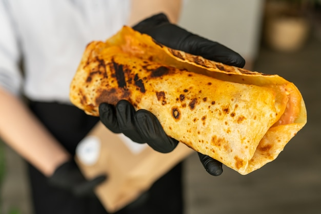 Burrito, lamm-döner