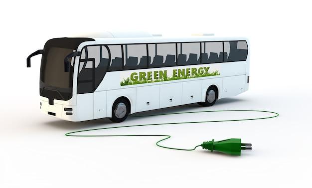 Bus und grüne energie