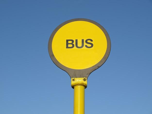 Bushaltestellenschild