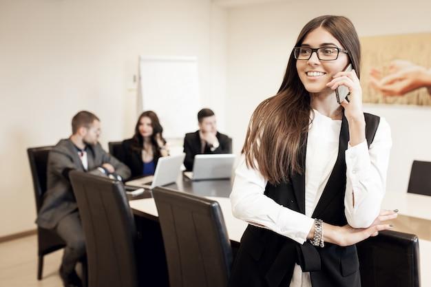Business busines junge diskussion training
