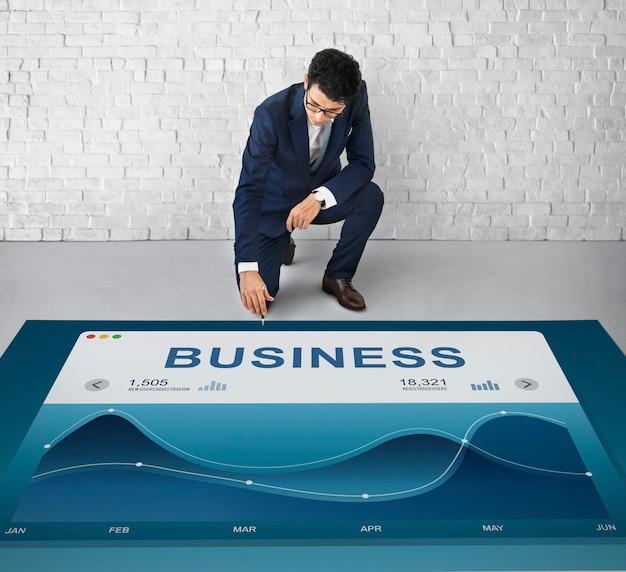 Business commercial corporate development konzept