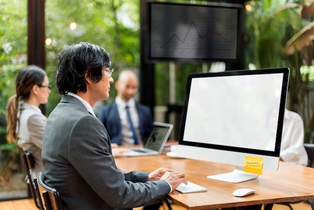 Business communication company unternehmer konzept
