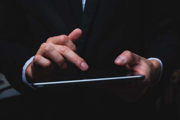 Business hand, konzept erfolgreich von business worker