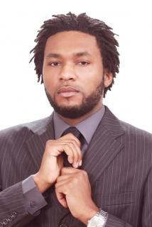 Business-mann anpassung krawatte