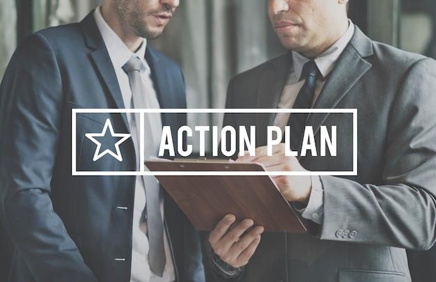 Business marketing strategie plan operationen