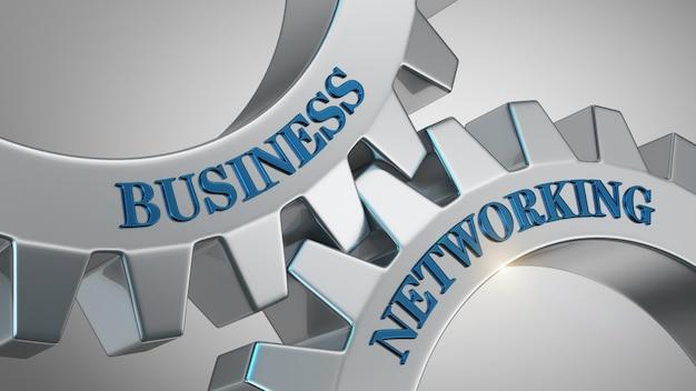 Business-networking-konzept