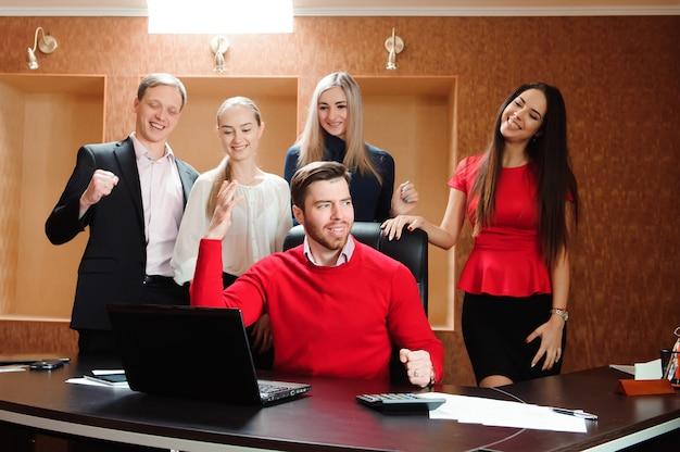 Business team beruflicher werdegang